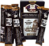 100% Kona Coffee Freeze Dried Instant (12 Individual 1.7g Stick Packs)