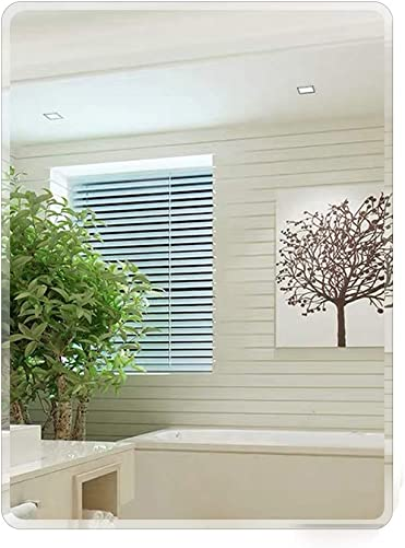 FANYUSHOW 23.6 x 31.5-inch Frameless Rectangle Wall Mirror