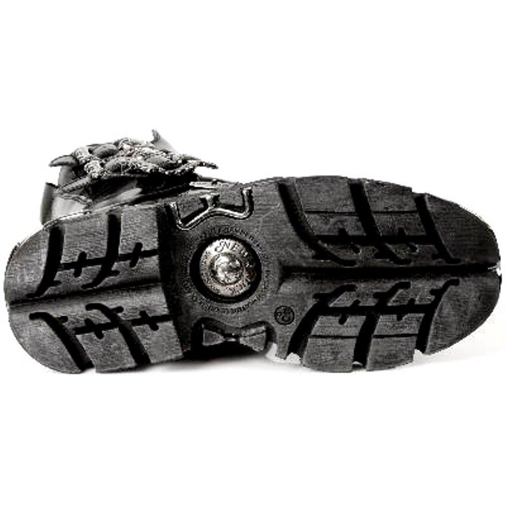 New Rock Style Stiefel Unisex Stiefel - Style Rock 391 S1 schwarz 0b58fe