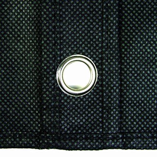 """42"""" Suit/dress Black Garment Bag with Silver Trim (1)"""