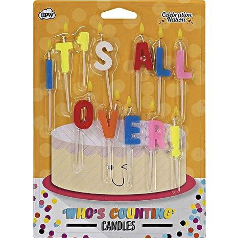 NPW tarta de cumpleaños velas - Perdido la cuenta para ...