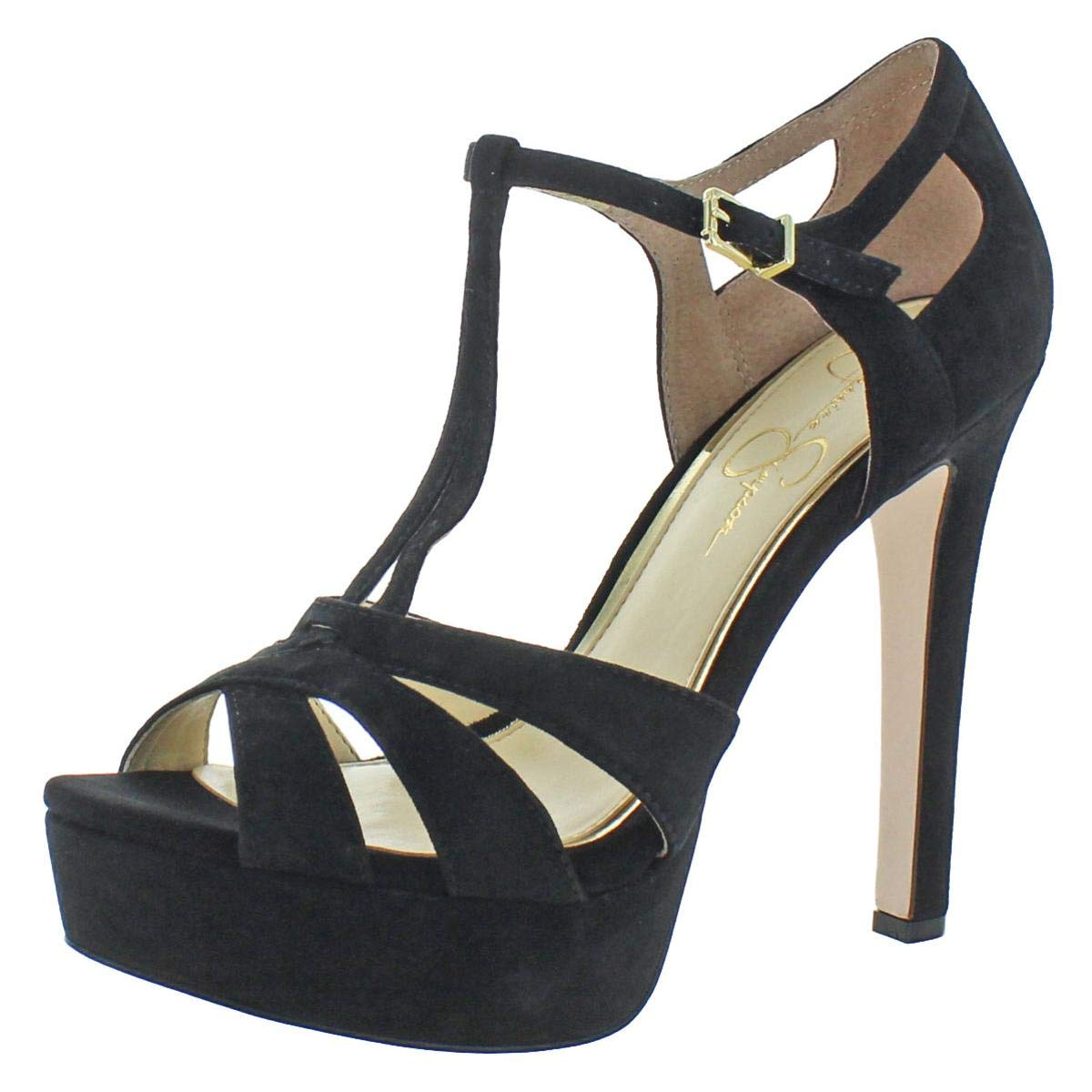 Black Lux Kid Suede Jessica Simpson Women's Bryanne