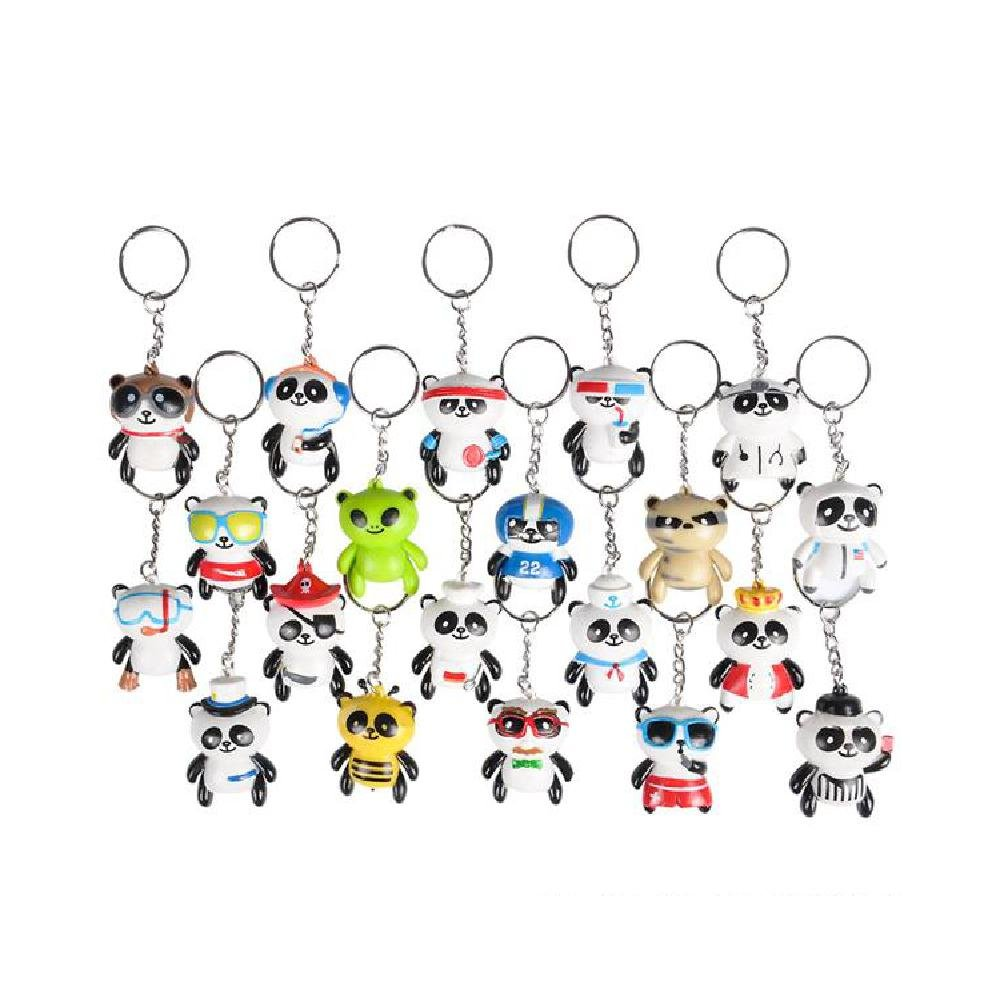 1.5'' Collectable Panda Keychain (20Pc/Un)