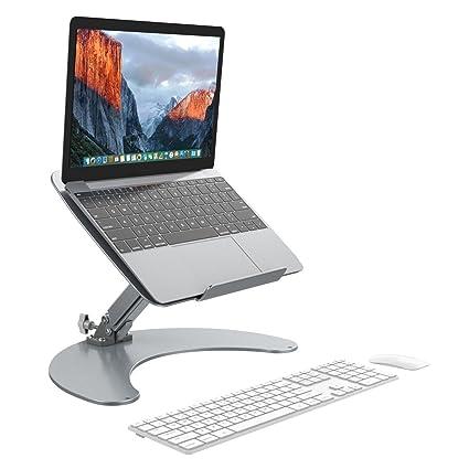 Slypnos Laptop Halter - Tablet Halterung Universal Tischhalter, Halterung,  einstellbare Halter (Aluminium, Anti-Slip, Gute Ventilation, für Laptop ...