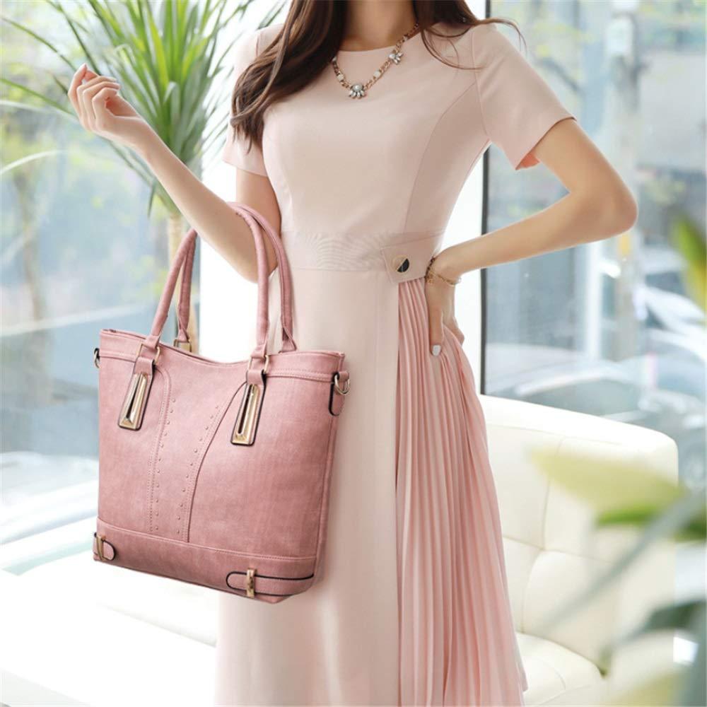Yiwuhu Wasserdichte Handtasche für Damen Retro Feng Shui Bag Bag Bag Bag Schulter Diagonal Umhängetasche Lady Handtasche Multifunktionstasche für den Büroalltag (Farbe   Rosa) B07NMBW2LQ Clutches Das hochwertigste Material 3d58ac