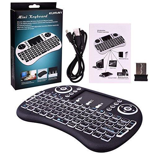 Kuman Touchpad Wireless Keyboard Raspberry