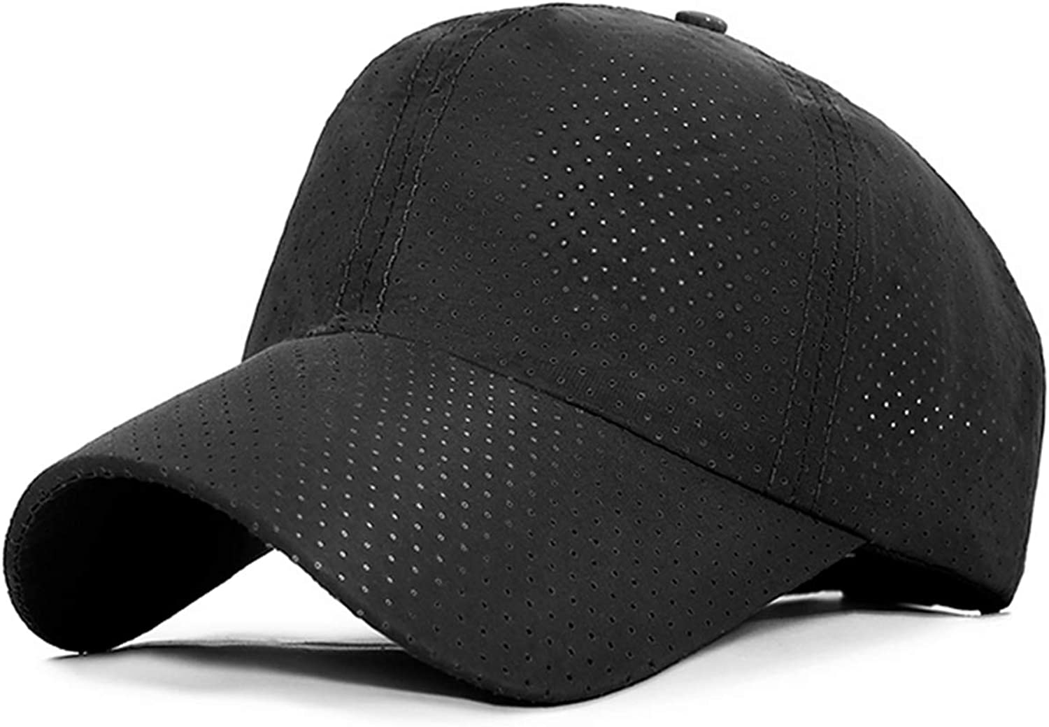 Fashion Design Mesh Baseball Cap Unisex Summer Pure Color Cap Women Adjustable Breathable Sport Hats