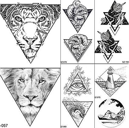 yyyDL tatuajes temporales Hombres Brazo Arte Tatuajes Temporales ...