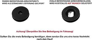 Teileplus24 Ef203 Fußmatten Gummimatten Exclusive Line Design Bandeinfassung Ziernähte Naht Silber Auto