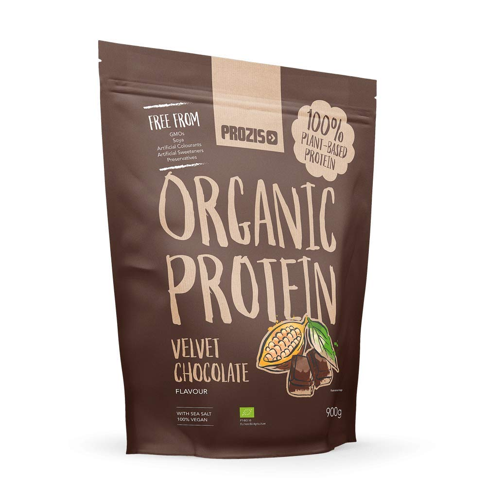 Organic Vegetable Protein 900 g Chocolate: Amazon.es: Salud y cuidado personal