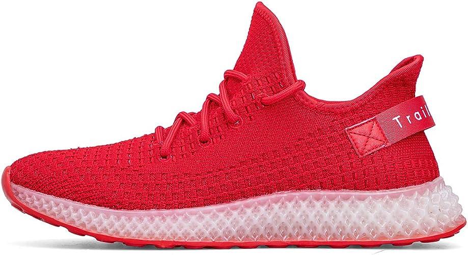 Trailkala - Zapatillas de Running para Hombre, Color Rojo, Talla 41 EU: Amazon.es: Zapatos y complementos