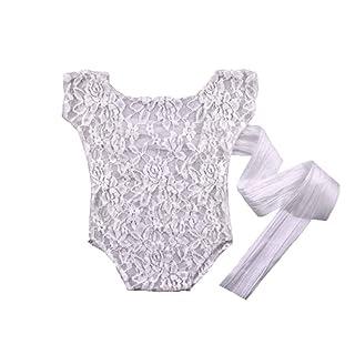 Ben-gi Accessori Fotografia Newborn Fotografia Puntelli del Merletto del Bambino del Pagliaccetto di studi Tie Ragazze Outfit