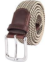 MIJIU Gürtel elastischer Bund Hochwertiger Bund für Männer in verschiedenen Farben