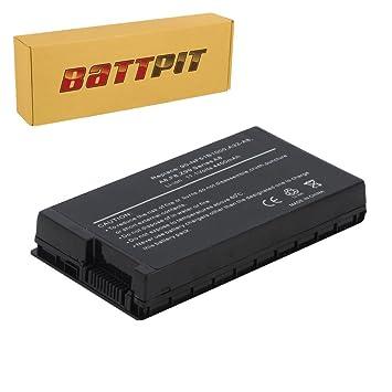 Battpit Recambio de Bateria para Ordenador Portátil Asus X61S (4400mah / 49wh): Amazon.es: Electrónica
