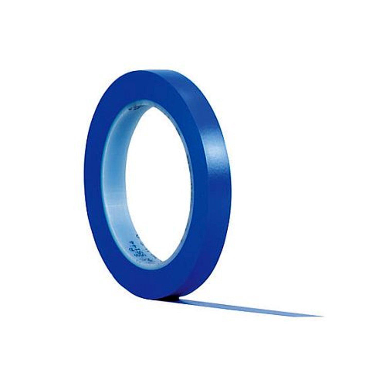 De 12/Mm X 32,9/m Rollo 3/Mtm Fine Line cinta de enmascarar Azul