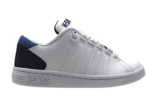 K-Swiss - Zapatillas para Mujer Blanco Wht/Eclipse/Brunner Blue, Color