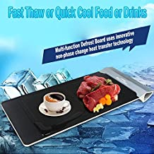 Multi-function Defrost Board, Fast Defrosting Tray,The Safest Way to Defrost Meat or Frozen Food Quickly Without Electricity or Microwave