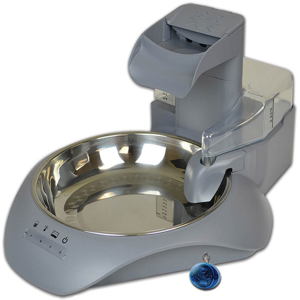 Our Pets SmartLink Waterer Intelligent Water Fountain, Bluetooth Health Monitoring Pet Automatic Waterer by Our Pets