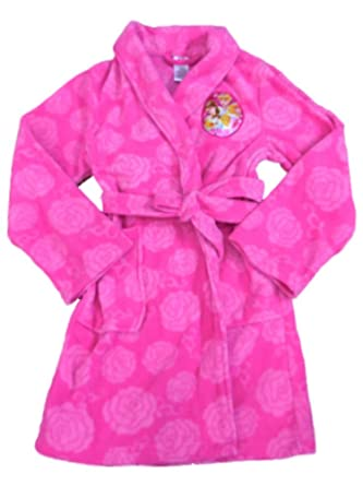 ea88decc28 Image Unavailable. Image not available for. Color  Disney Girls Pink  Princess Robe Fleece ...