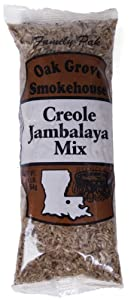 Oak Grove Creole Jambalaya Mix, Family Pak Size - 16 Ounces