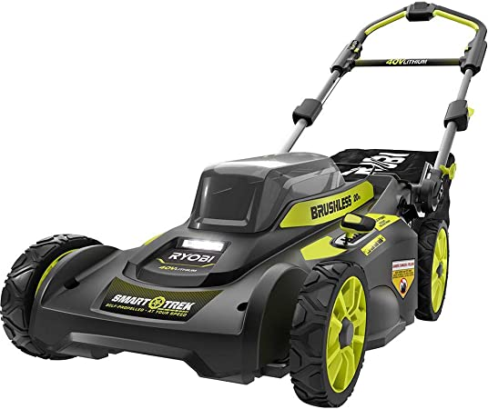 Amazon.com: Ryobi 19.7 in. 40 V sin escobillas de iones de ...