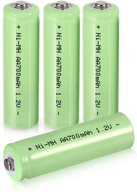 Bater/ía recargable 3,6V//80mAh NI-MH