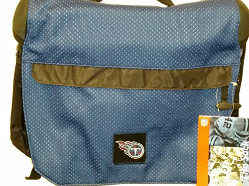 NFL Sport Messenger Bag, ''Tennessee Titans'' NEW by THE SACK