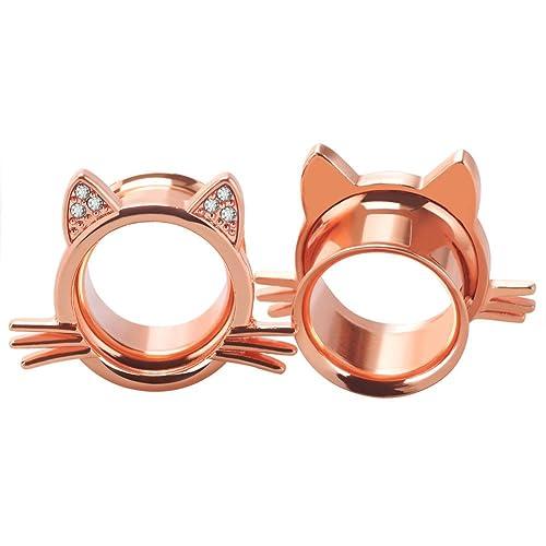 Amazon.com: BodyJewelryOnline tapones para los oídos diseño ...