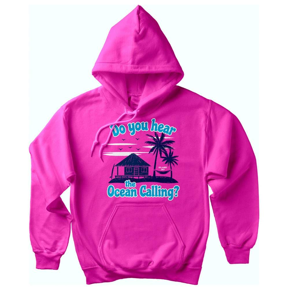 Island Jay Do You Hear The Ocean Calling Soft Style Pullover Hoodie
