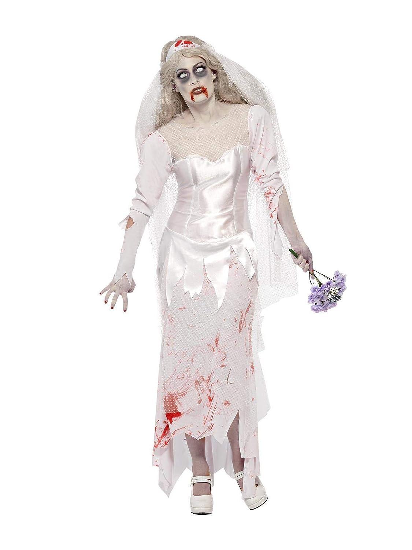 003f38822684 SMIFFYS Costume Zombie Sposa Finché Morte non ci Separi