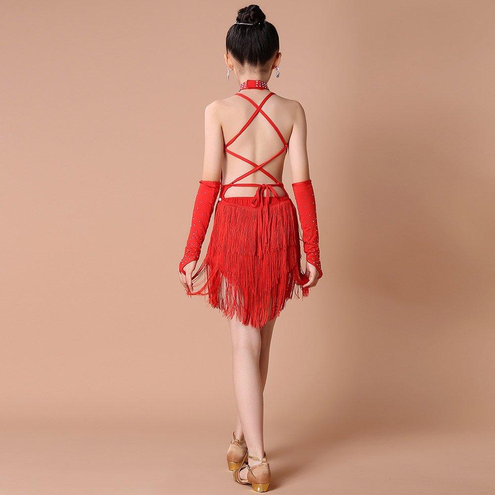 Xmiral 4Pcs Conjuntos de Ropa de Baile Latino para Niñas ...
