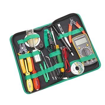 Cablematic - Kit de herramientas para dispositivos electrónicos de 15 piezas modelo BEST-113: Amazon.es: Electrónica