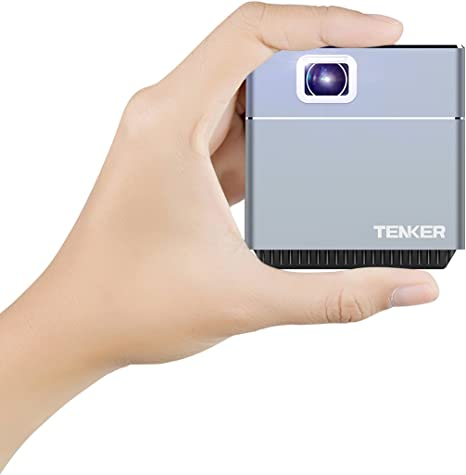 Mini Video Pro JECTOR, tenker S6 DLP Cube Projector: Amazon.es ...