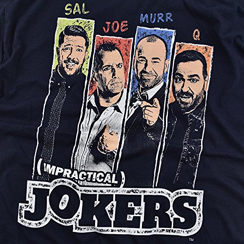 Impractical Jokers Slides Licensed Adult T Shirt