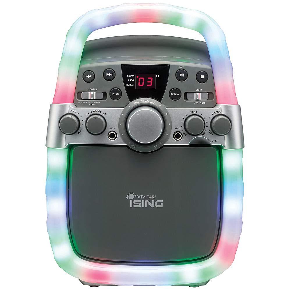 Vivitar iSing Bluetooth Light-Up Karaoke Machine with Mic by Vivitar (Image #1)