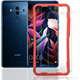 Ibywind [2PCS Pack Huawei Mate 10 Pro Screen Protector,Bubble Free Installation Applicator Tempered Glass Screen Protector [Anti-Fingerprint] for Huawei Mate 10 Pro-Transparent