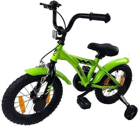 SPACEBABY - Bicicleta BMX para niños (3 años, 14 Pulgadas, 95 ...