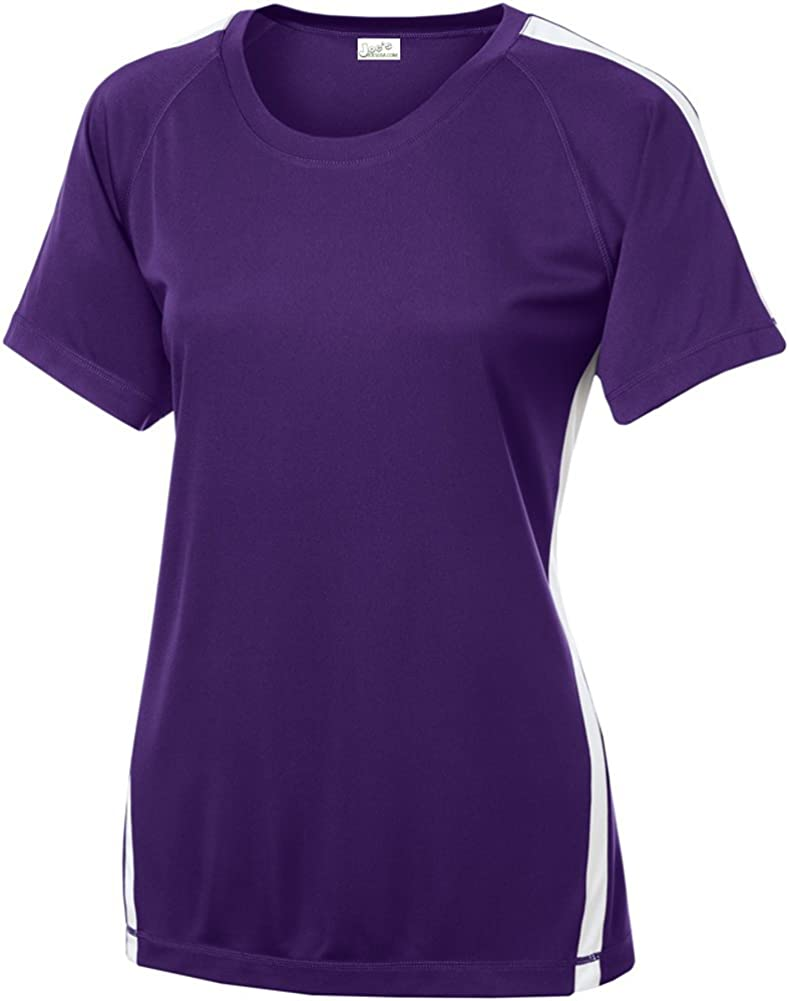 Joe's USA Women's Athletic All Sport Training T-Shirt in 48 Colors. Sizes XS-4XL at  Women's Clothing store
