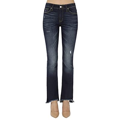 Kan Can Women's Mid Rise Skinny Jeans KC8394 at Women's Jeans store