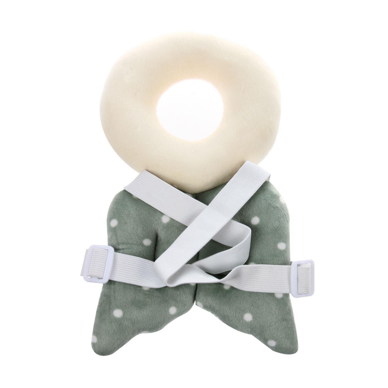 SODIAL Baby Kopfschutzpolster Nackenpolster Neugeborene Babyzubeh?R Fl/üGel Blau