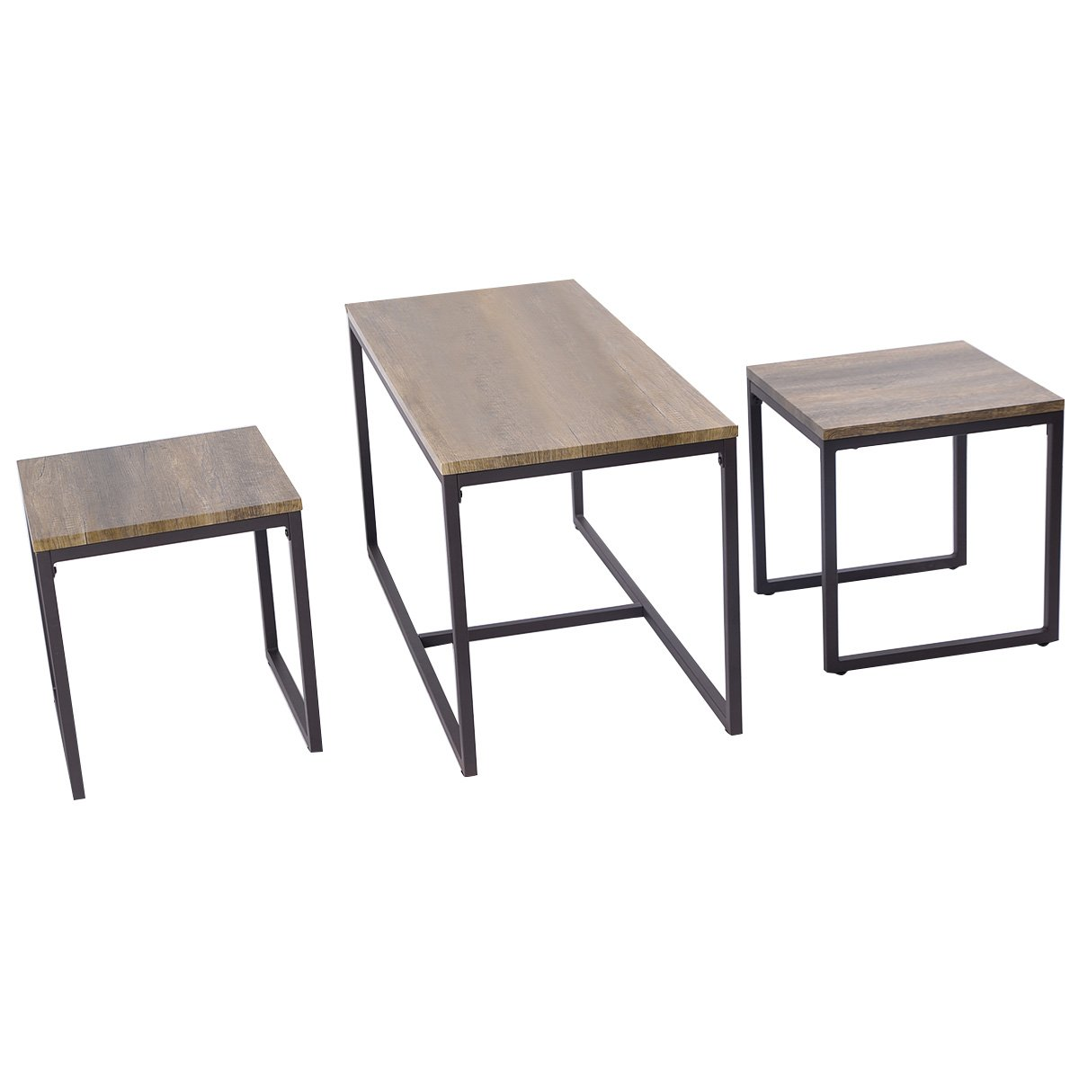 Nesting Coffee Table Modern Narrow