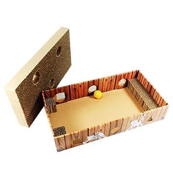 coribe Lovely Gatos Rascador sofá Lounge Catnip cartón Scratch Post gato cama nuevo: Amazon.es: Productos para mascotas