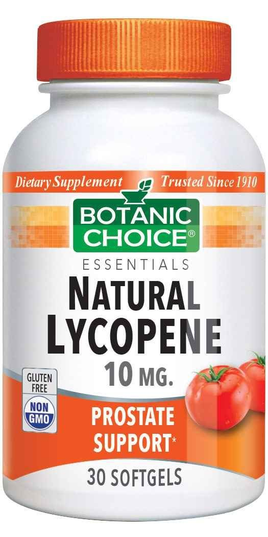 Botanic Choice Natural Lycopene - Prostate Support Supplement - 30 Softgels