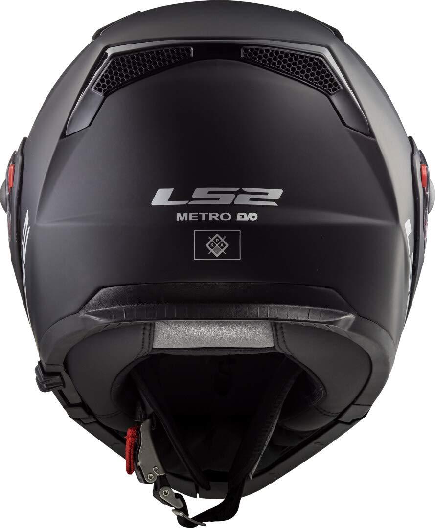 Caschi Moto FF324 Metro Evo Matt Nero P//J LS2