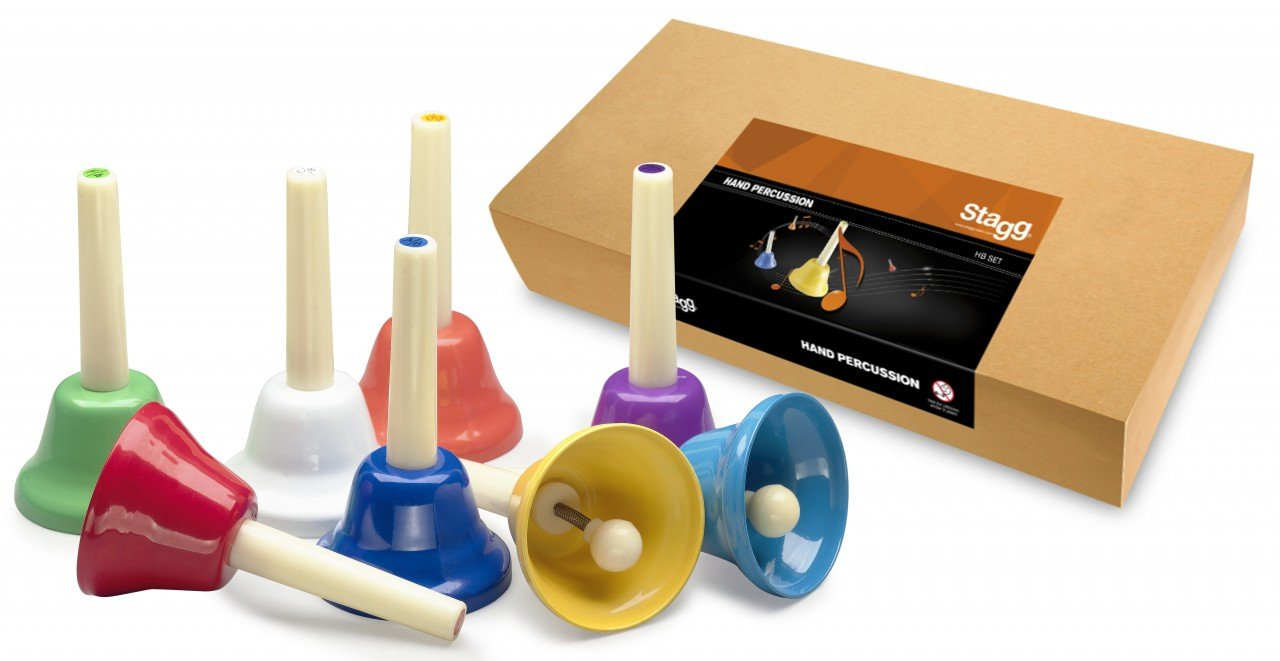 Stagg HB SET Stagg 8 Note Hand Bell Set