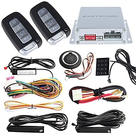 Easyguard Universell Oberseite Qualität PKE Auto Alarm System Passiv ...