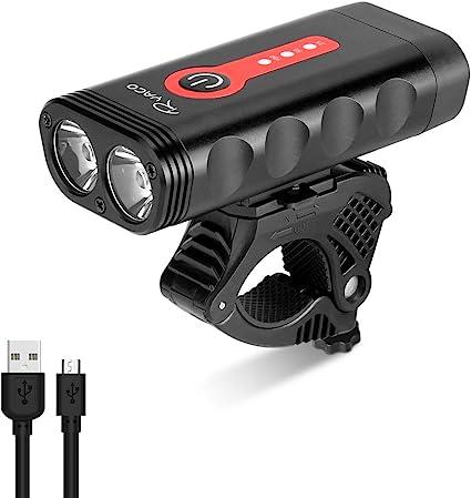 LED Silicone Vtt Vélo Avant Feux Arrière Cycle Lumière Lampe Pince Gear