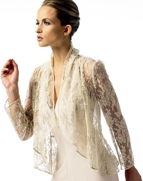 Vogue Elizabeth Gillett Designer Schnittmuster 8885/Damen Jacke Gr/ö/ßen L bis XXL