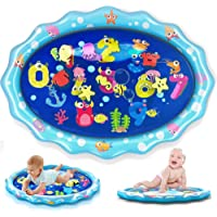 heytech Tummy Time Baby Water Mat, Infant Toy Inflatable Play Mat Activity Center for 3 6 9 Months Newborn Boy Girl 33.5…