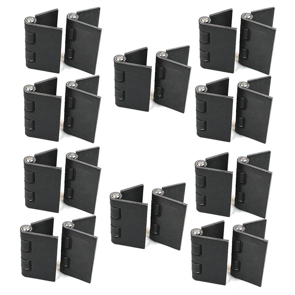 Heavy Duty Weldable 10 Pairs 4'' x 4'' Gate Hinges-Steel Butt Hinge/Heavy Gates Doors